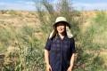 周軍先生 内モンゴルでの砂漠緑化活動に参加しました。